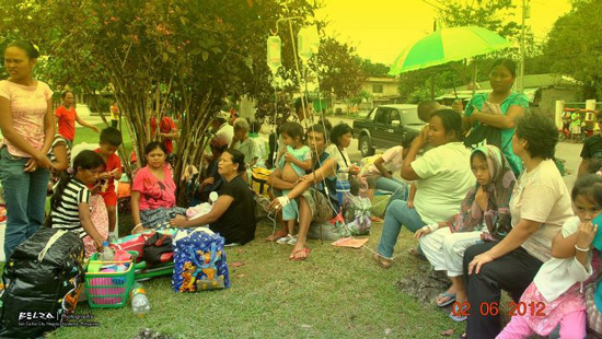 Some residents in Negros Occidental evacuated their place