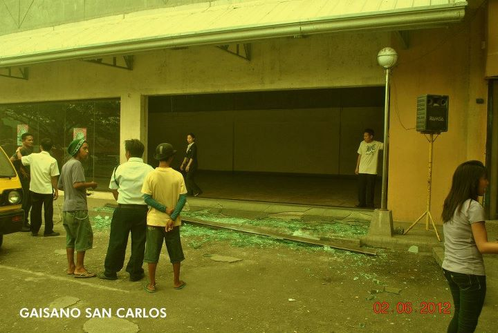Earthquake in Gaisano San Carlos, Negros Occidental
