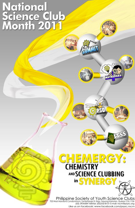 CHEMERGY Chemistry and Science Clubbing in Synergy