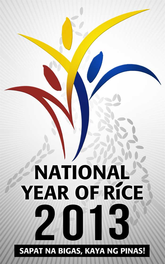 National Year of Rice 2013 Logo