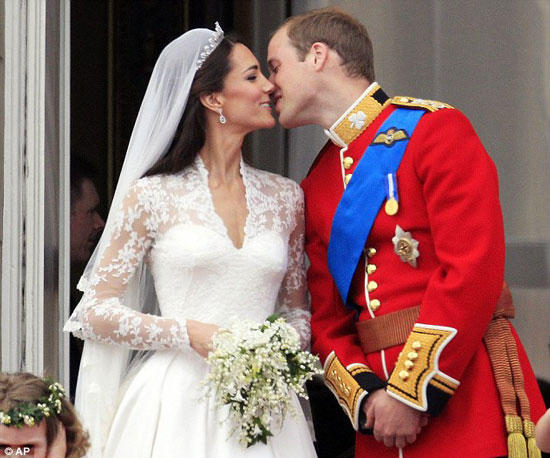 Prince William and Kate Middleton 1st Wedding Anniversary