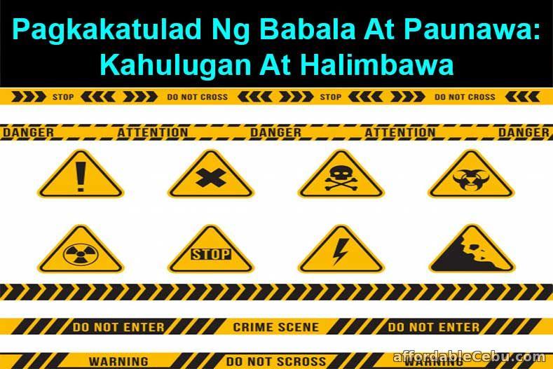 Babala at Paunawa: Kahulugan, Pagkakatulad at Halimbawa