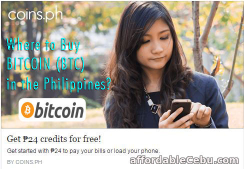 Buy BITCOIN BTC in Philippines