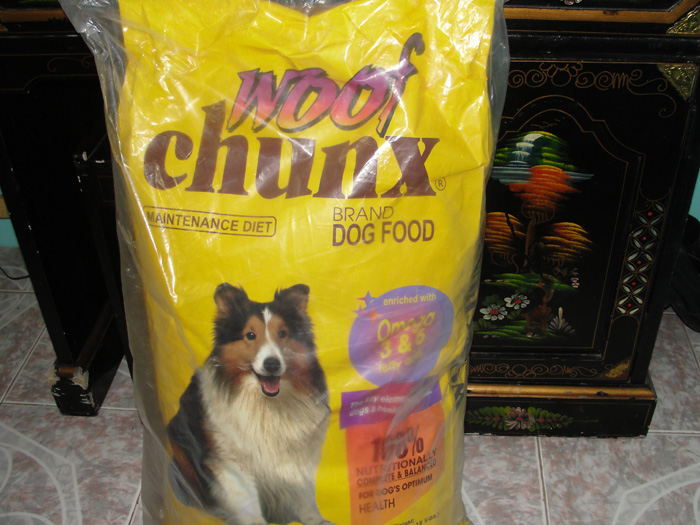 Woof Chunx Dog Food