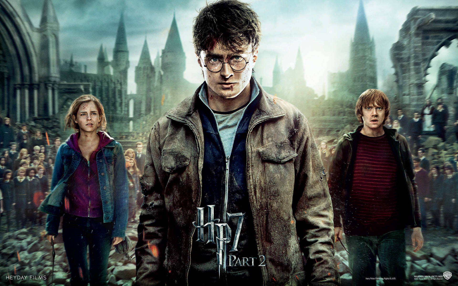 Harry Potter and the Deathly Hallows Wallpaper Hero