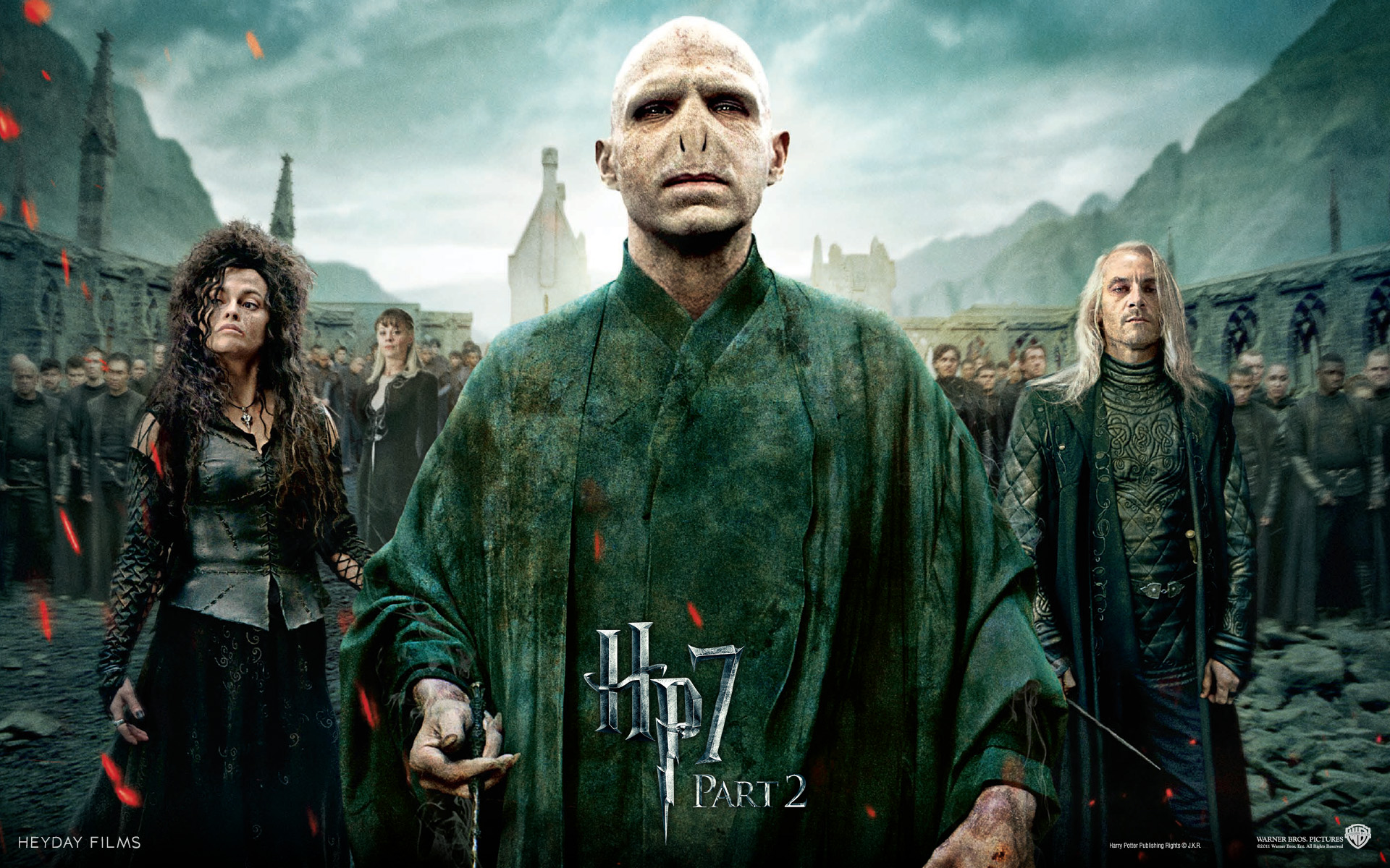 Harry Potter and the Deathly Hallows Wallpaper Villain
