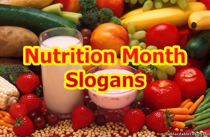 nutrition month 2018 slogans