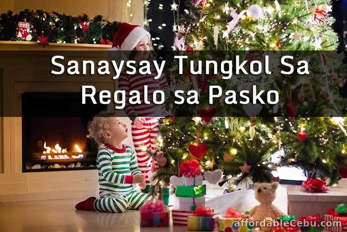 Sanaysay Tungkol sa Regalo sa Pasko