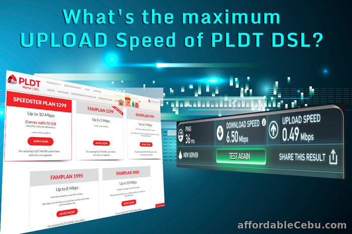 PLDT Upload Speed Internet