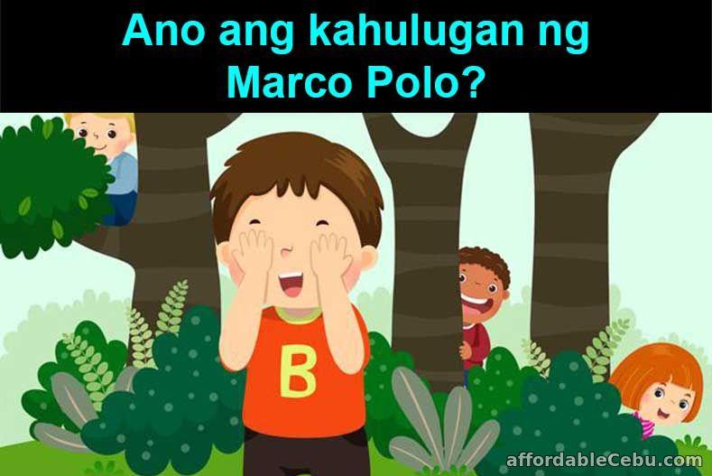 Ano ang kahulugan ng Marco Polo?