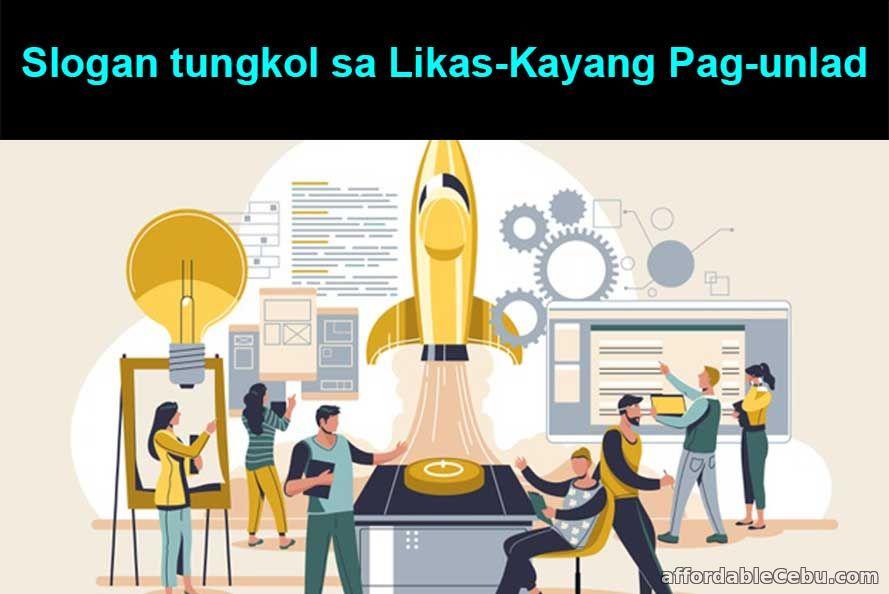 Mga Slogan tungkol sa Likas-Kayang Pag-unlad