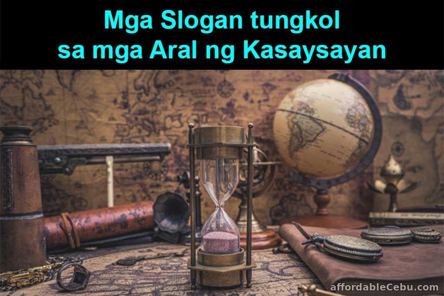 Mga Slogan tungkol sa mga Aral ng Kasaysayan