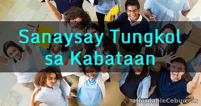 Sanaysay Tungkol sa Kabataan