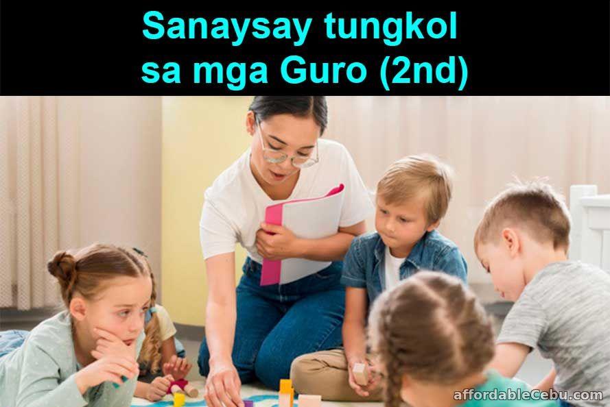 Sanaysay tungkol sa mga Guro (2nd)
