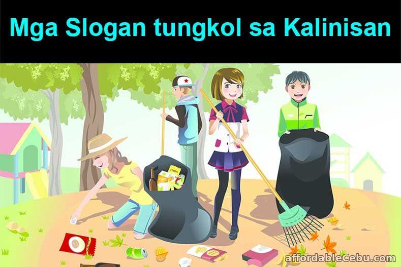 Mga Slogan tungkol sa Kalinisan