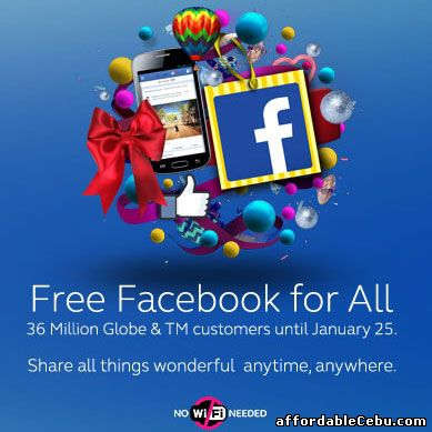 Free Facebook Access with Globe Touch Mobile