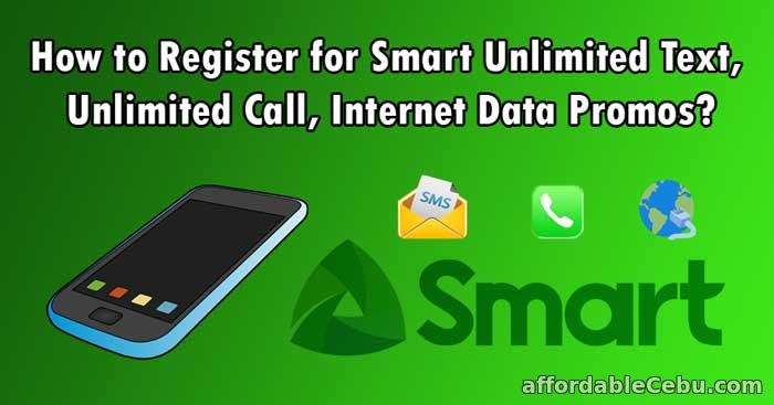 Register Smart Unlimited Text Call Internet