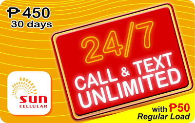 Sun Call and Text Unlimited 450