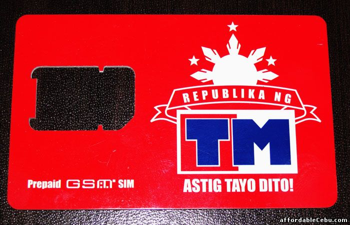 Touch Mobile TM Sim Card