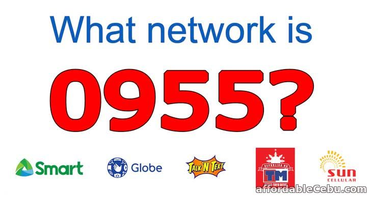 0955 globe or smart what network?