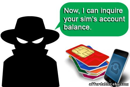 Inquire or access account balance of other people
