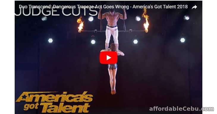 Acrobatic Act Goes Wrong America's Got Talent 2018