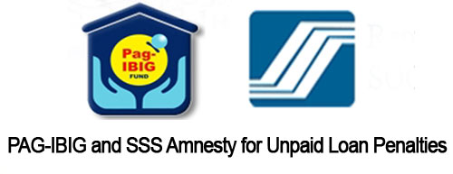 Pag-Ibig and SSS Amnesty for Unpaid Loans