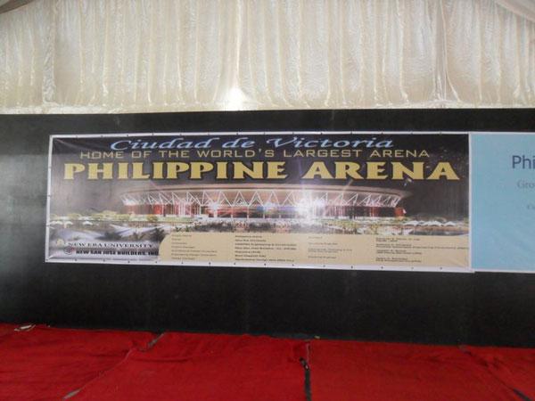 Philippine Arena Banner Streamer