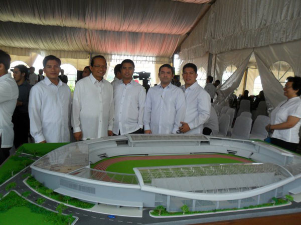 New Era University Stadium (NEU) located beside Philippine Arena