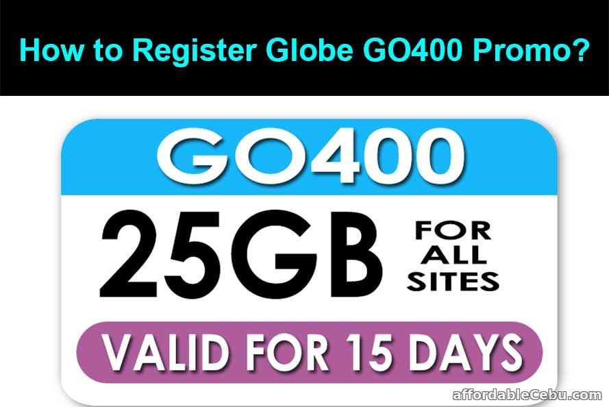 How to Register Globe GO400