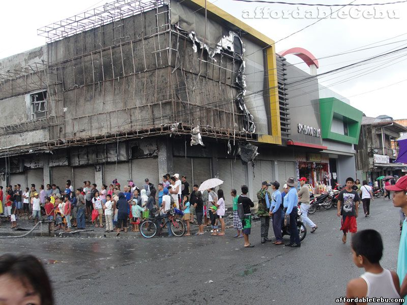 Fire Sunog Hits Commercial Stores In Oroquieta City
