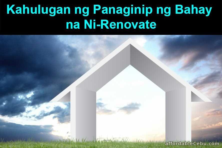 Kahulugan ng Panaginip ng Bahay na Ni-renovate