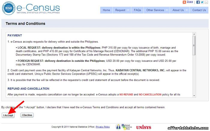 How to Apply for NSO Birth Certificate Online - Philippine Government 37