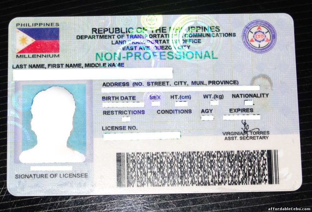 Non-Professional License