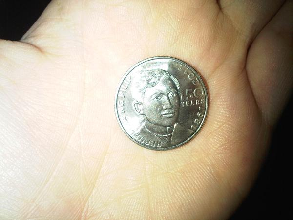 New One Peso Coin