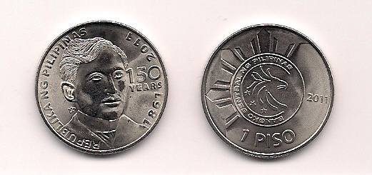 New 1 Peso Coin