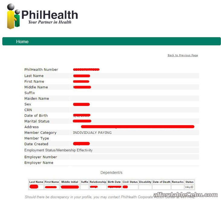 Health Info Site Online: How To Register In PhilHealth Online In 3 Minutes
