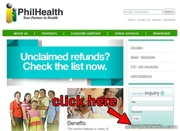 PhilHealth Registration Link