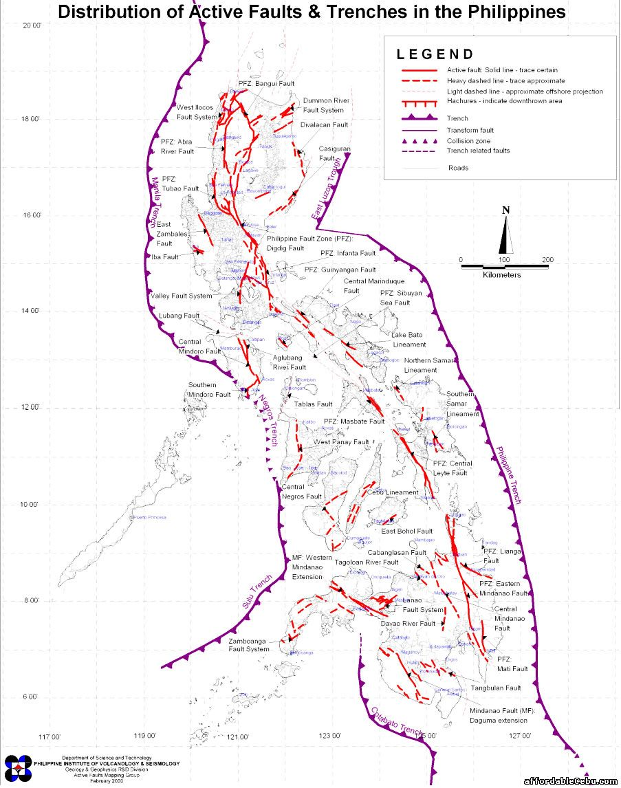 Fault Lines and Trenches in the Philippines