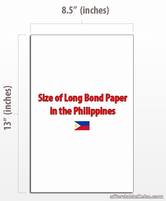 Whats the size of long bond paper in philippines philippine long bond paper in philippines malvernweather Images