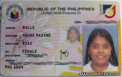 Unified Multi-Purpose ID Card