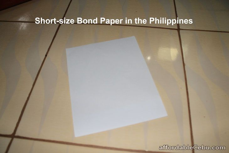short bond paper in Philippines