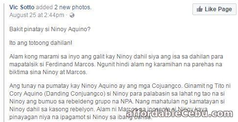 Bakit Pinatay si Ninoy Aquino