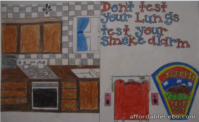 Fire Prevention-Safety Poster 8