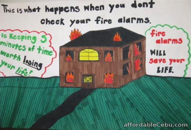 list of fire prevention safety posters and drawings philippine  fire prevention safety poster 9