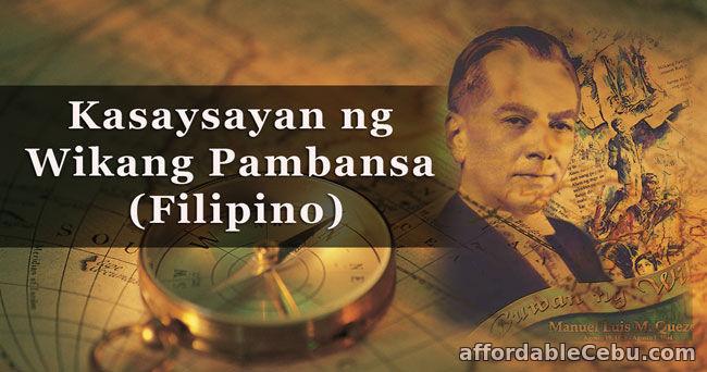 Kasaysayan ng Wikang Pambansa (Filipino)