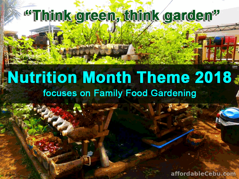 Nutrition Month Theme 2018