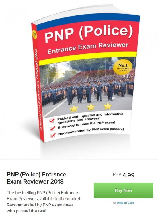 PNP Police Entrance Exam Reviewer