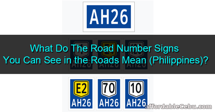 Road Number Signs Philippines Meaning