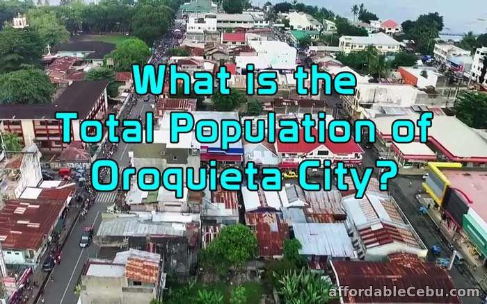 Total Population of Oroquieta City